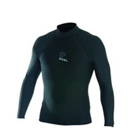 "Xcel Xcel - Polypro L/S surf shirt 2"" collar"