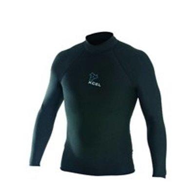 """Xcel - Polypro L/S surf shirt 2"""" collar"""