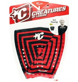 Creatures Creatures - Nat Young - Signature Model Pad Red