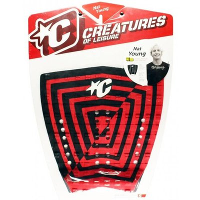 Creatures - Nat Young - Signature Model Pad Red