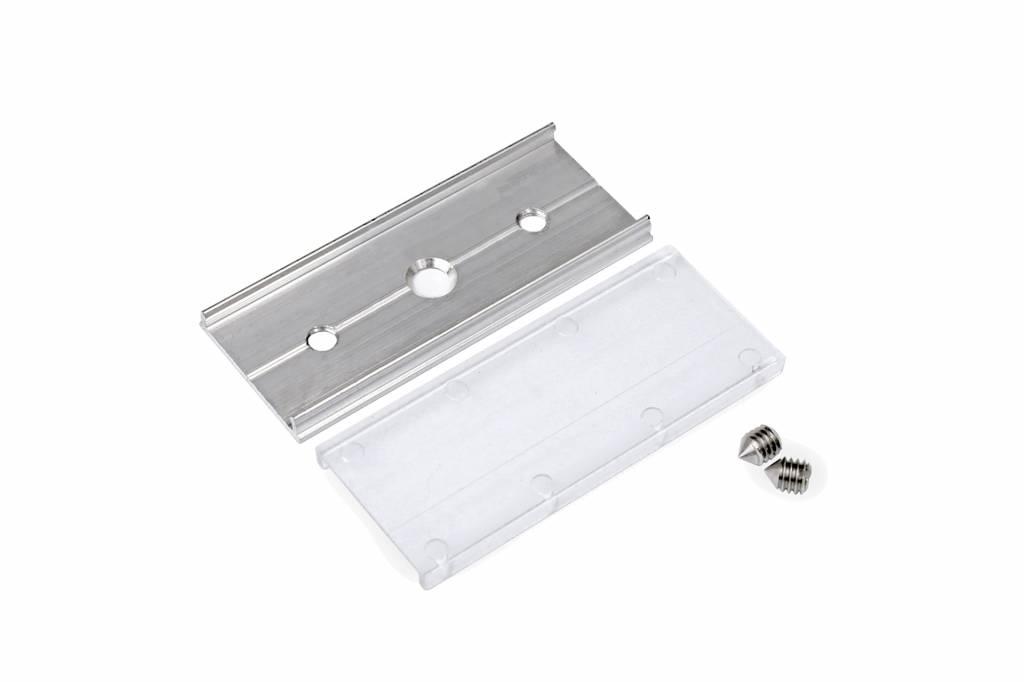 Verbindingsstuk Type `T` Solid Aluminium