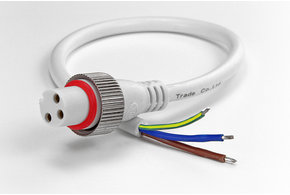AppLamp Pigtail connector IP68 voor Dual White waterdichte LED strip
