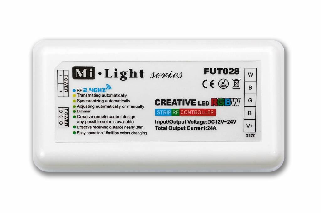 MiLight RF RGBW Creative 1-kanaals controller 24A los