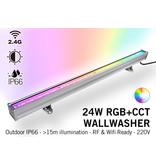 MiLight Milight Wall Washer RGB+Dual White - IP65 - 24Watt - 220Volt - 100CM