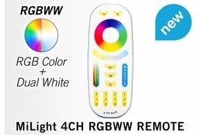 MiLight Touch Remote RGB+CCT (Dual White) Mi-Light RGBWW met 4-kanalen