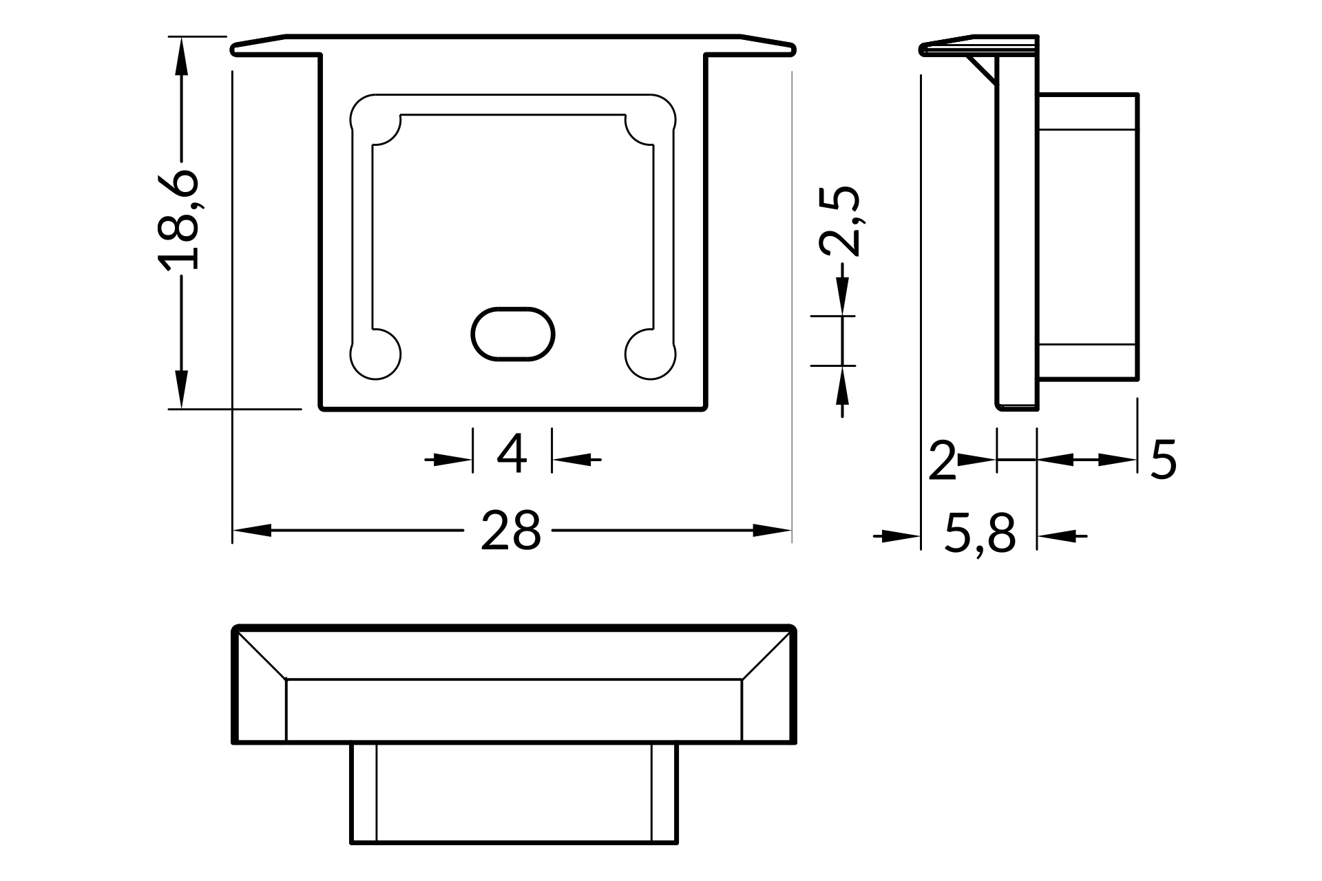 Eindkapjes NOVA16 RS , Set van twee stuks