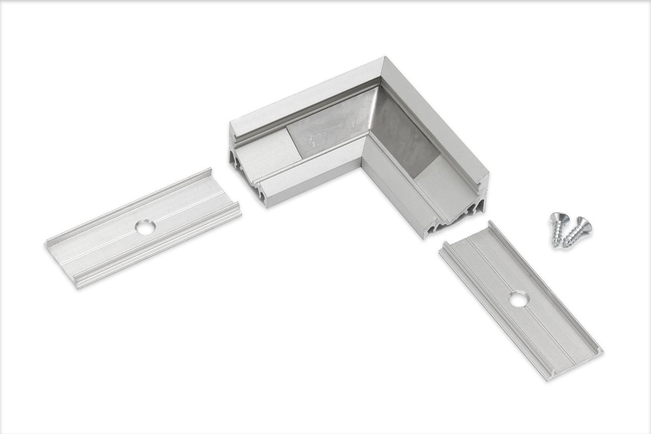 Hoek koppelstuk 90° voor Angle LED profiel