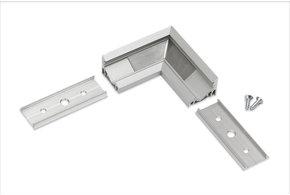 Hoek koppelstuk 90° voor Angle14 LED profiel