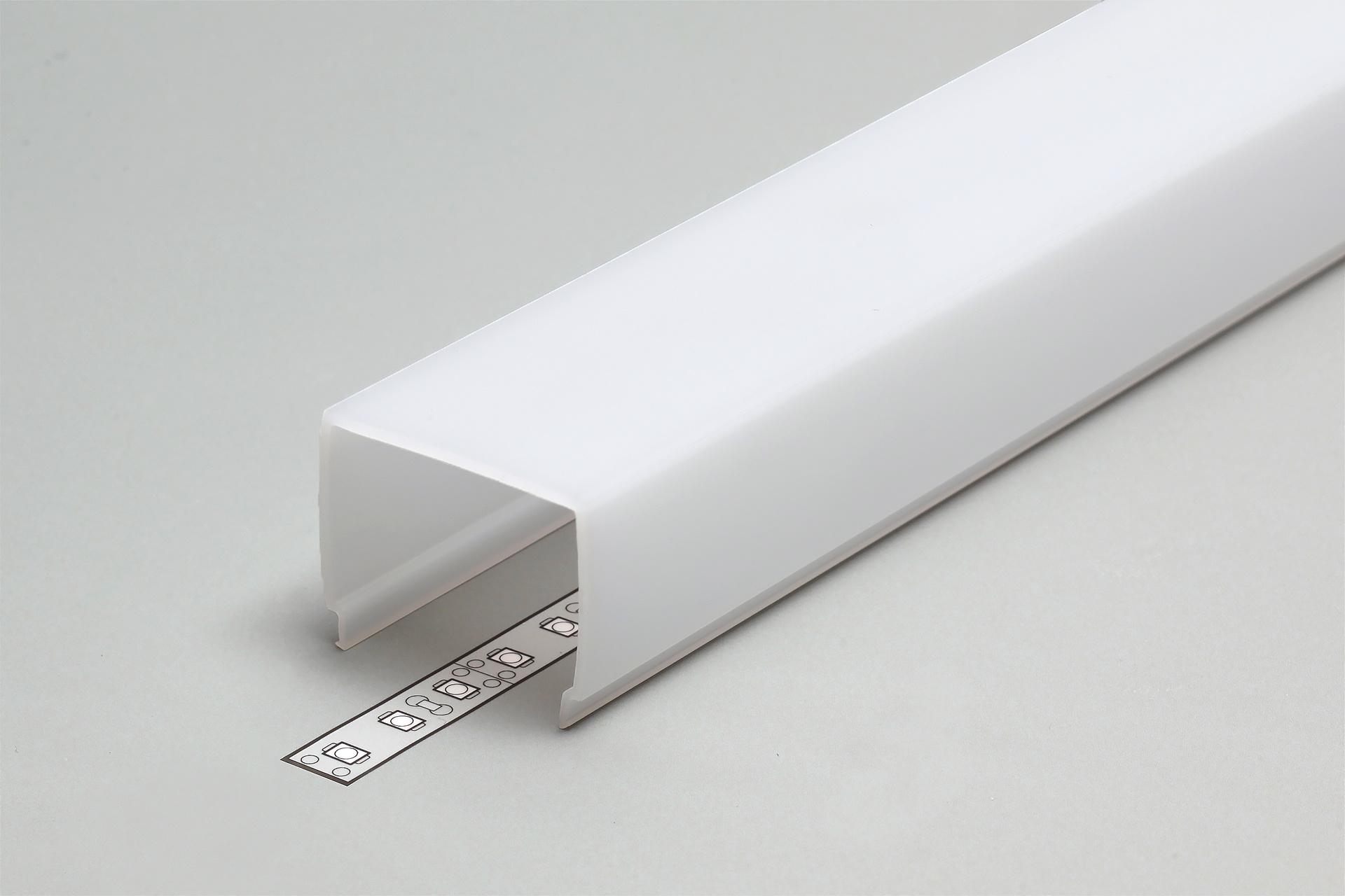 Cover E9 melkwitte kap in 1m of 2m lengte
