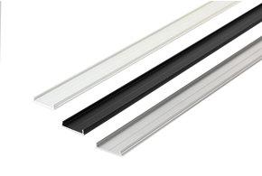 Aluminium afdekking voor achterzijde NOVA20 profielen 1m-2m