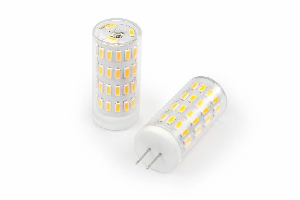 Dimbaar LED G4 steeklampje, Warm Wit 2800K, 3,2Watt, 12 tot 24 Volt AC/DC