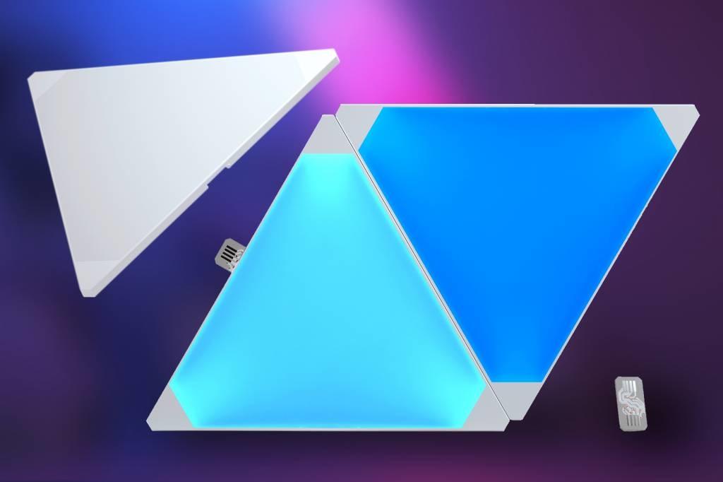 Aurora Nanoleaf Aurora Expansion Pack, Uitbreidingsset met 3 panelen.