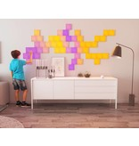 Nanoleaf Nanoleaf Canvas Smarter kit Rhythm  met 9 led panelen en APP