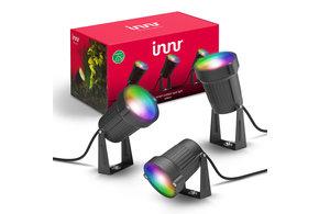 INNR INNR Zigbee buitenspot set 3-pack 4.5W RGBWW OSL130C