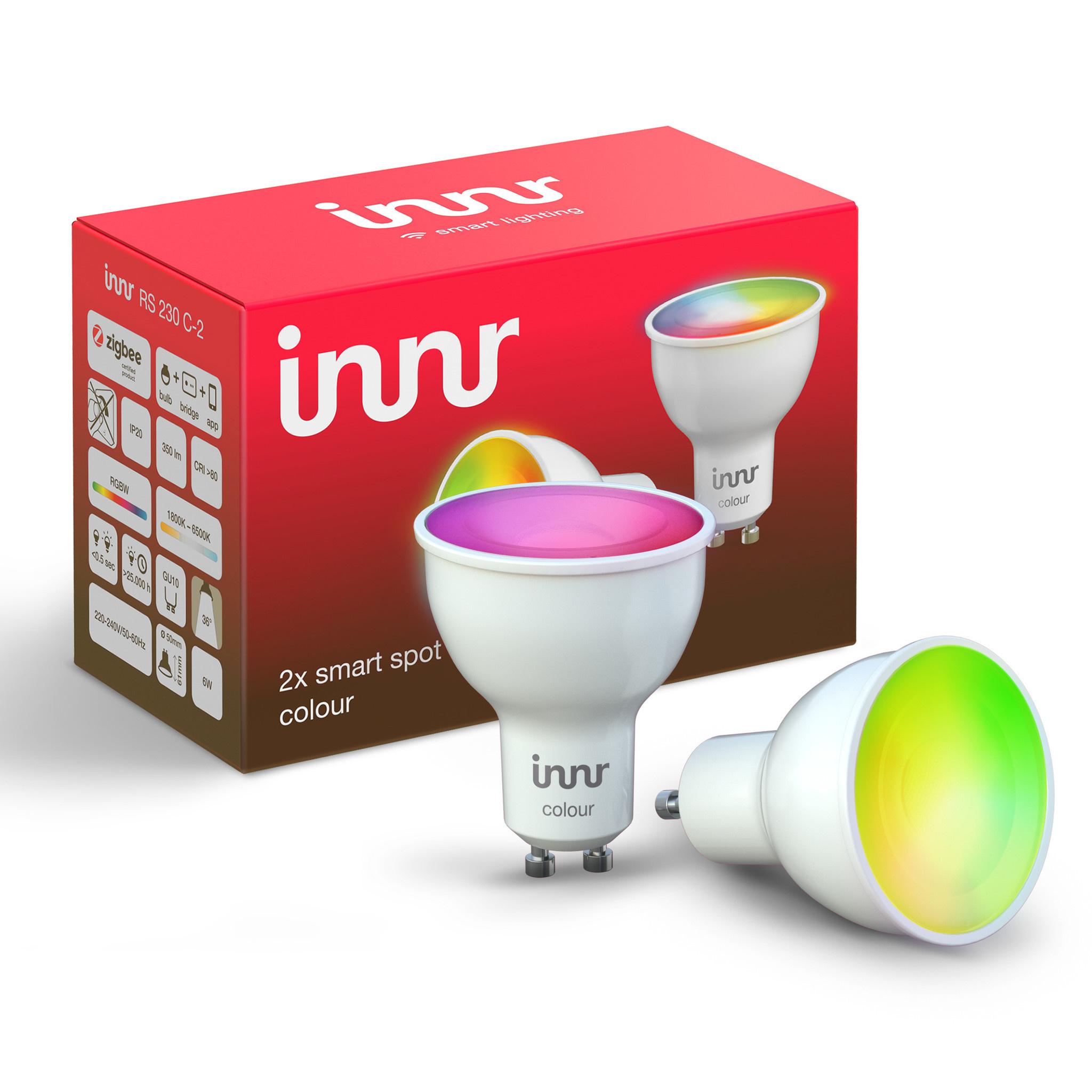 INNR INNR  Zibee Colour GU10 RGBWW Duo Pack RS 230 C-2