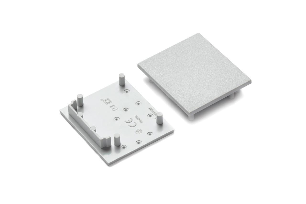 Eindkapjes voor LED profiel EVO303. Set van twee