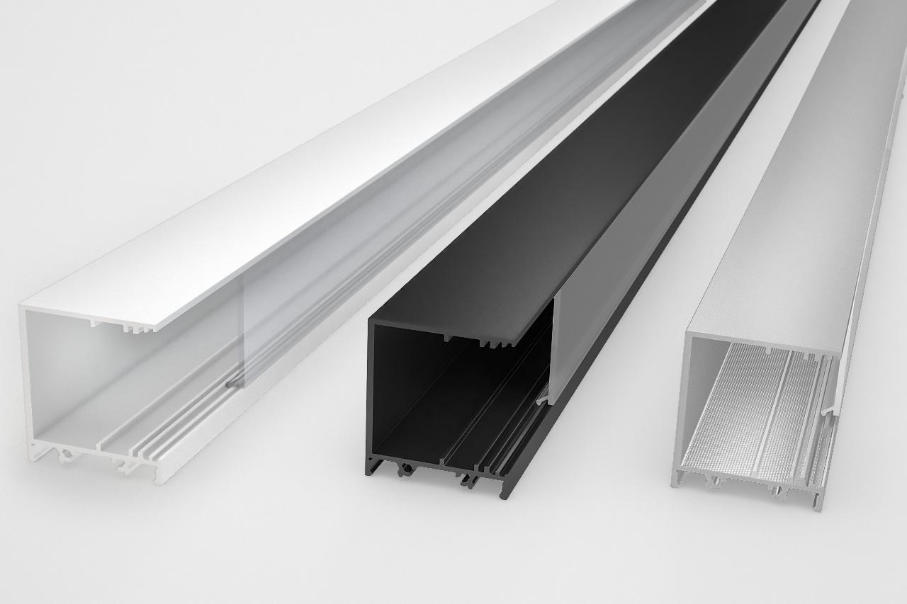EVO303 31mm zijwaarts opbouw Led Profiel 1m-2m