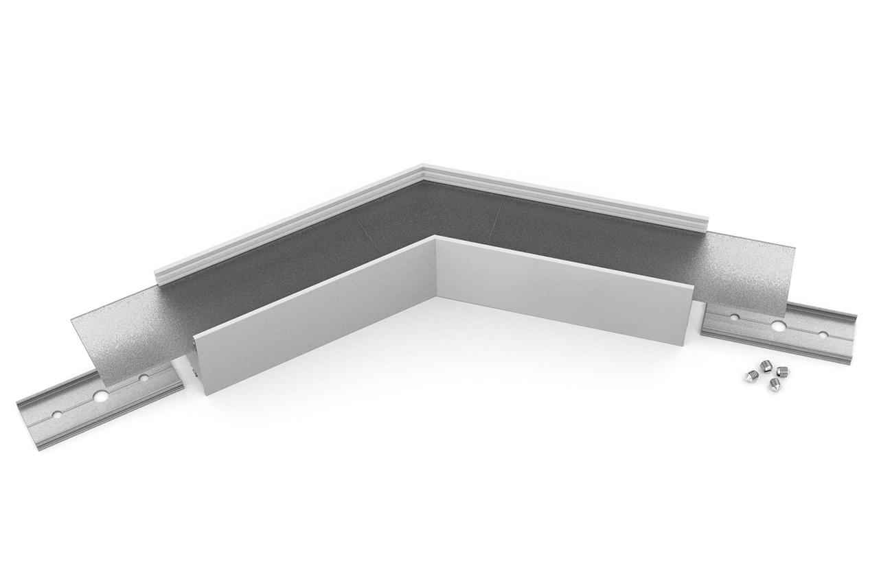 Hoek koppelstuk 135° voor EVO302 LED profiel