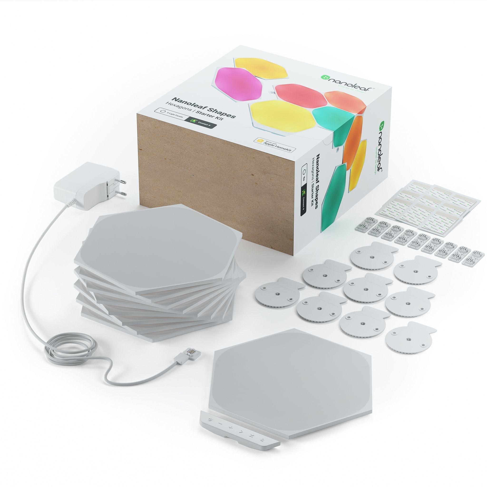 Nanoleaf Nanoleaf Shapes Hexagons Startset Kit  9PK