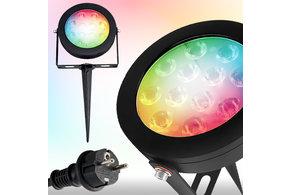 GLEDOPTO GLEDOPTO Zigbee 3.0 RGB+CCT Tuin prikspot | 12W 230V | GLEDOPTO