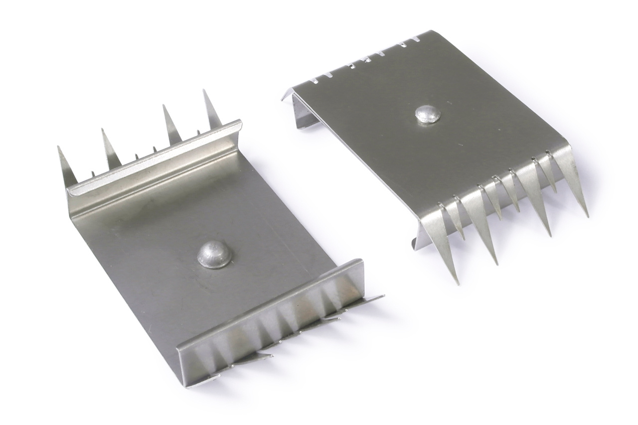 Houder Type U9 Flexibel Inox getand
