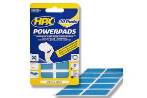HPX 10 stuks Extra Sterke POWERPADS | 20mm x 40mm | semi-transparant