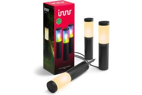 INNR INNR Zigbee Outdoor sokkellamp 3-pack 4.5W RGBWW | OPL 130 C