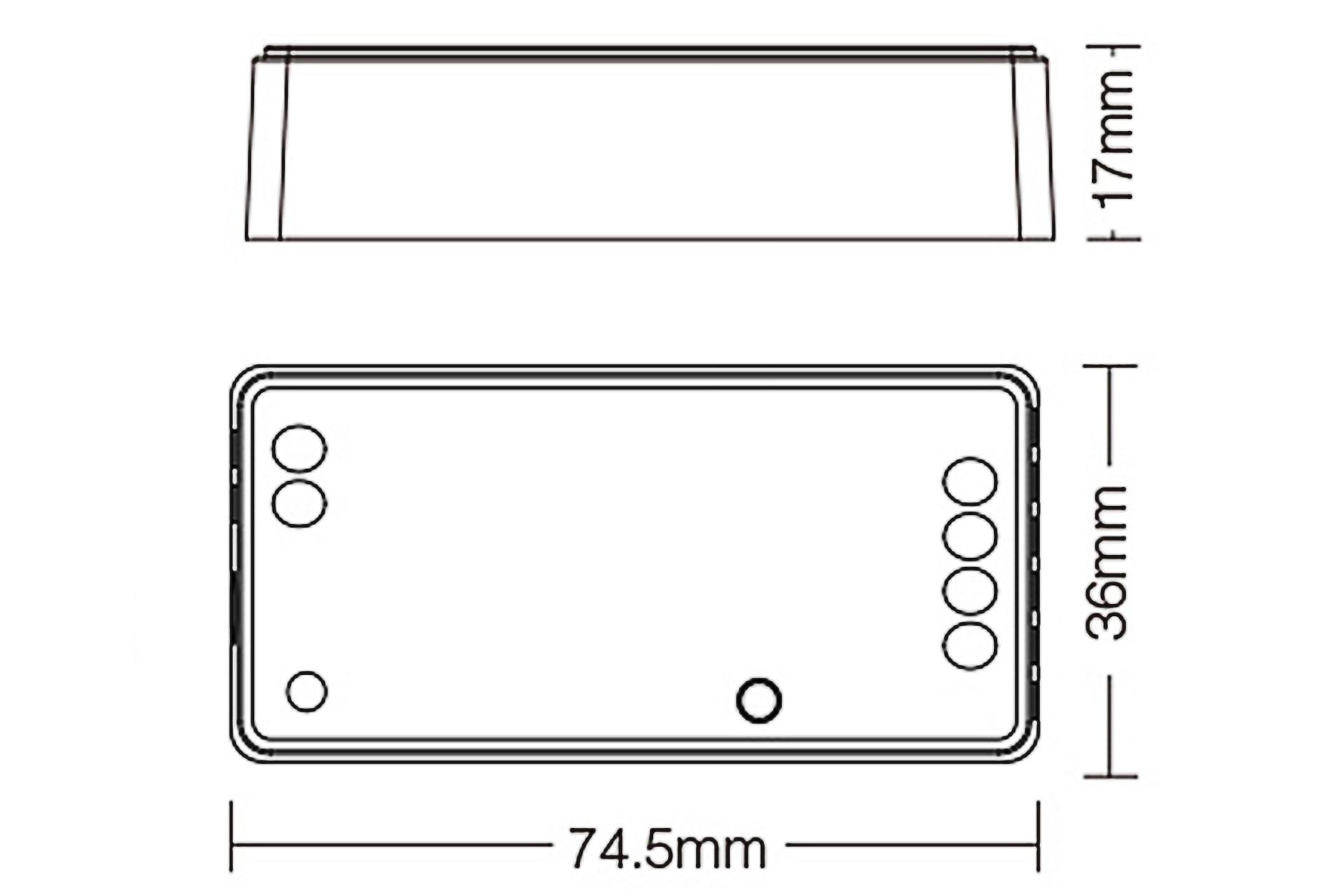 MiLight Miboxer RGB Zigbee 3.0 Dimmer Controller