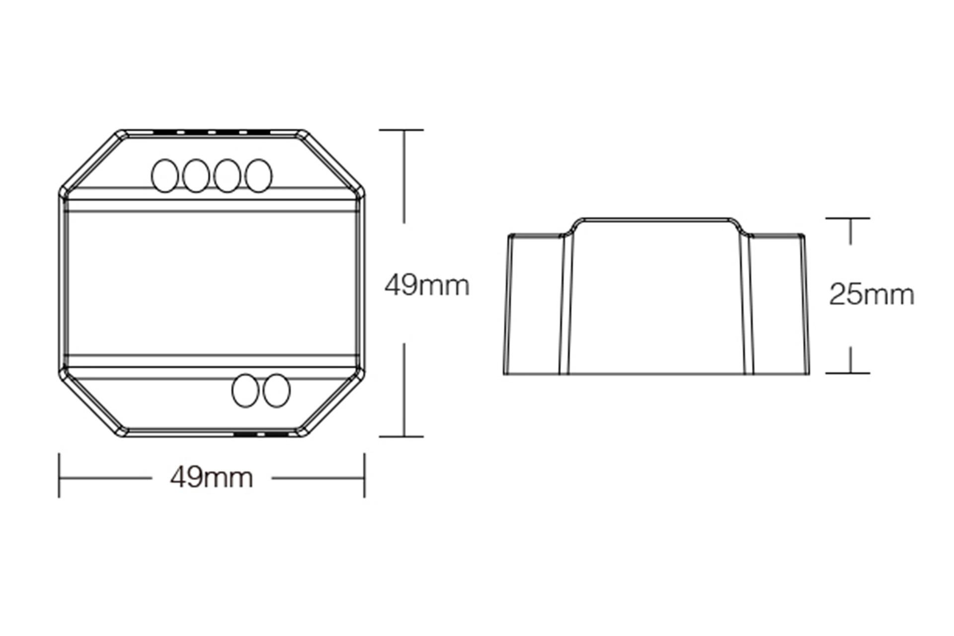 MiLight Miboxer 220Volt Triac Dimmer module voor afstandsbediening en drukknop