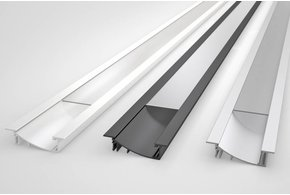SMOOTH 10mm Verzonken Led Profiel 1m-2m