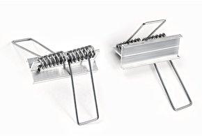 Houder Type `X` Springveer - 1 stuk