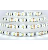 Dual Wit 2400K~6000K CCT Led Strip | 5m of 2.5m  120 Leds pm Type 2835 12V - Losse Strip