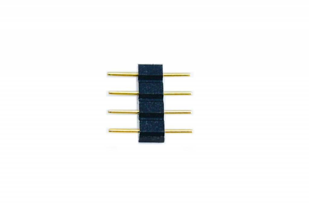 RGB 4-pins Ledstrip connector male-male