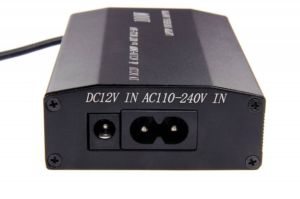 Universele adapter DC 12-24Volt 100Watt