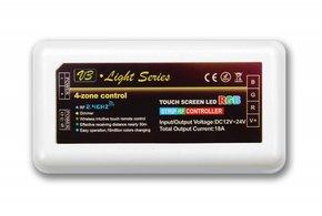 Wifi RGB LED strip controller 3x6A, RF draadloos te bedienen, zonder toebehoren