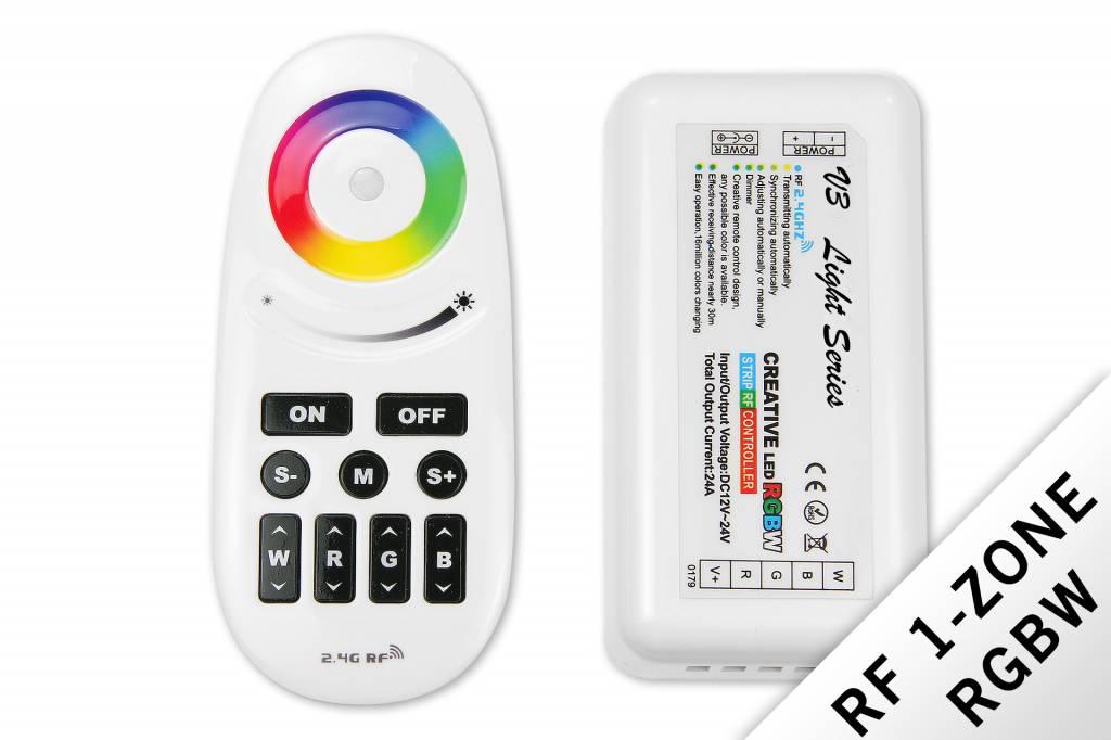 MiLight MiLight  RF RGBW Creative 1-kanaals controller met afstandsbediening 24A