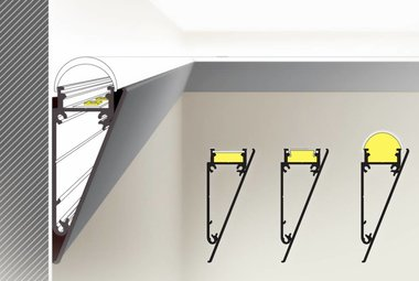 WALL deco LED profiel 12mm