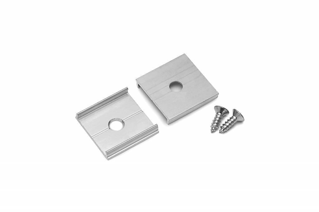 Houder Type `T` Solid Aluminium
