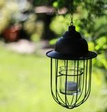 HomeartByBahne Teelicht-Laterne hängend, Schwarz
