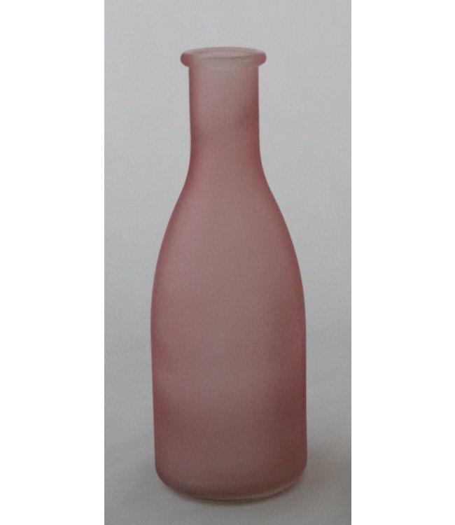 """Vase/Flasche """"Erika""""klein rosa"""