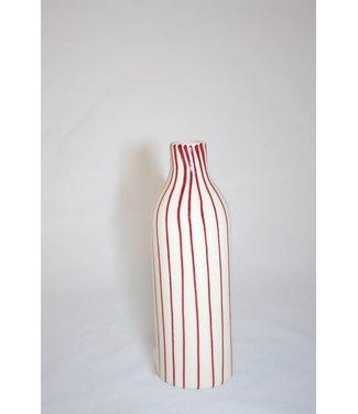 """Bahne Dekovase """"Red-Lines"""" 18 cm"""