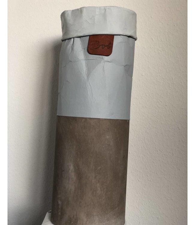 Bob Blumentopf/ Vase  handmade hoch