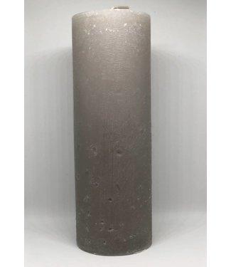 Rustik Lys Kerze smokey grey
