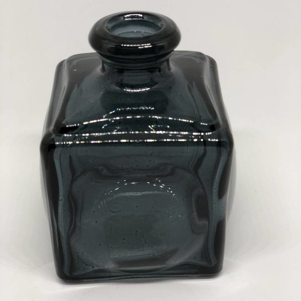 Vase Glas midnight black
