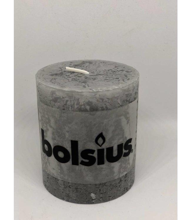 Bolsius Kerze light grey