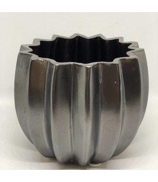HomeartByBahne Blumentopf/Vase - schwarz braun - Ø 16 cm