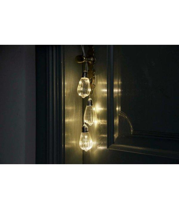 Glühbirne 3er Set mit Lichterkette zum Aufhängen Batterie - Copy
