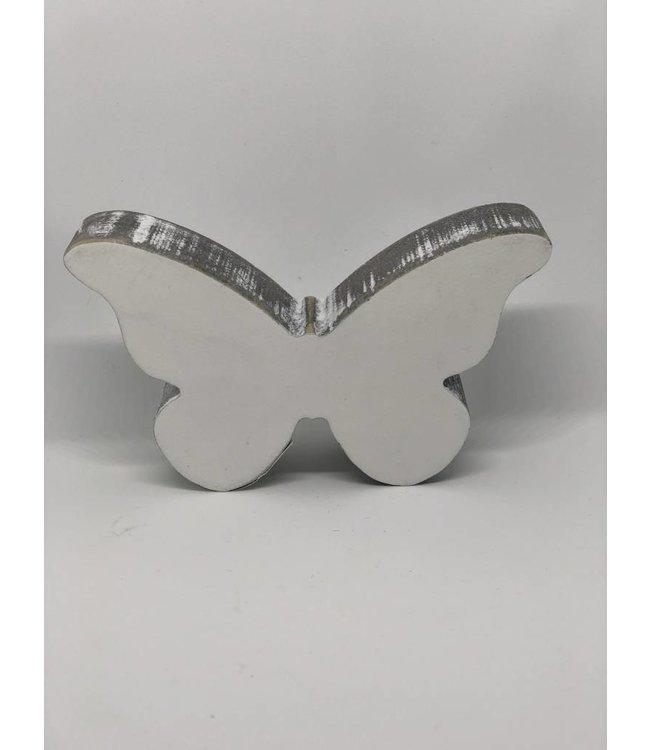 Schmetterling aus Holz klein