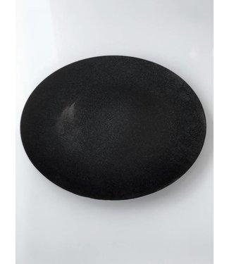 Platzteller schwarz mit Glimmer ø 33 cm