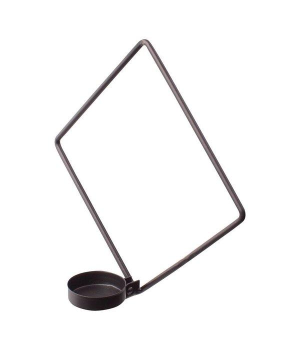 OPENMIND Wandteelichthalter schwarz im 2 er Set von Openmind